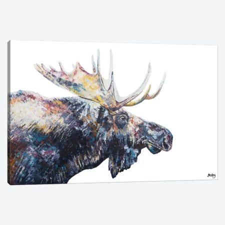 Jed Canvas Print #BEC27} by Becksy Canvas Art Print