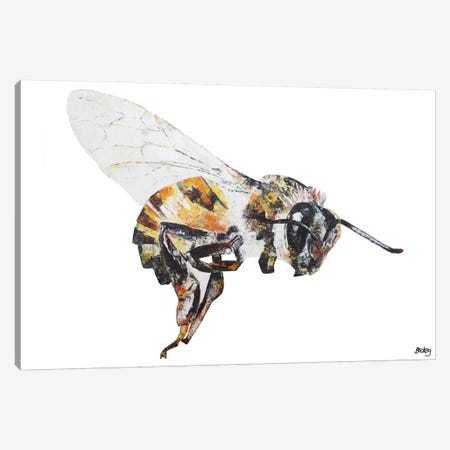Bee Canvas Print #BEC44} by Becksy Canvas Print