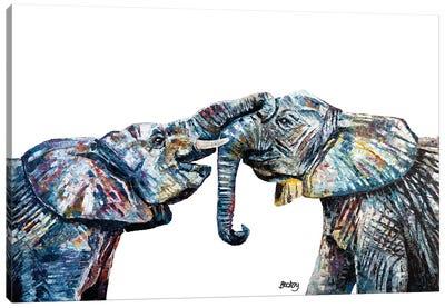 Bahati & Bashasha Canvas Art Print
