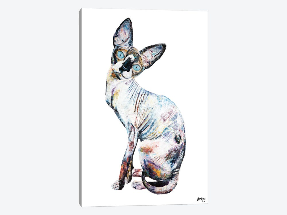Larry by Becksy 1-piece Canvas Print
