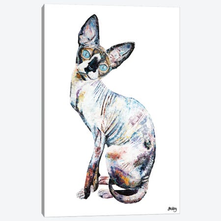 Larry Canvas Print #BEC50} by Becksy Canvas Print