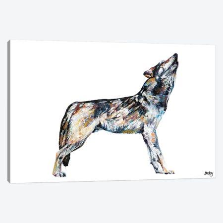 Mishka Canvas Print #BEC52} by Becksy Art Print