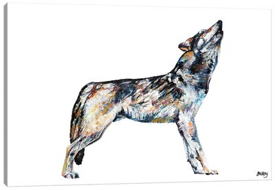 Mishka Canvas Art Print