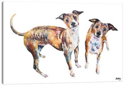 Paco & Rico Canvas Art Print