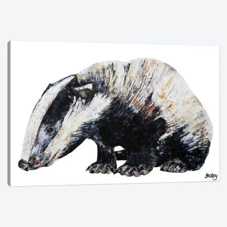 Bernie Canvas Print #BEC61} by Becksy Canvas Wall Art