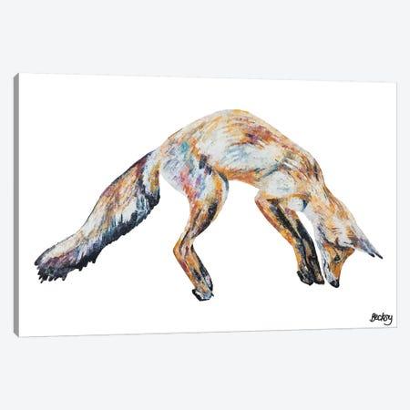 Mr Aikwood Canvas Print #BEC65} by Becksy Art Print
