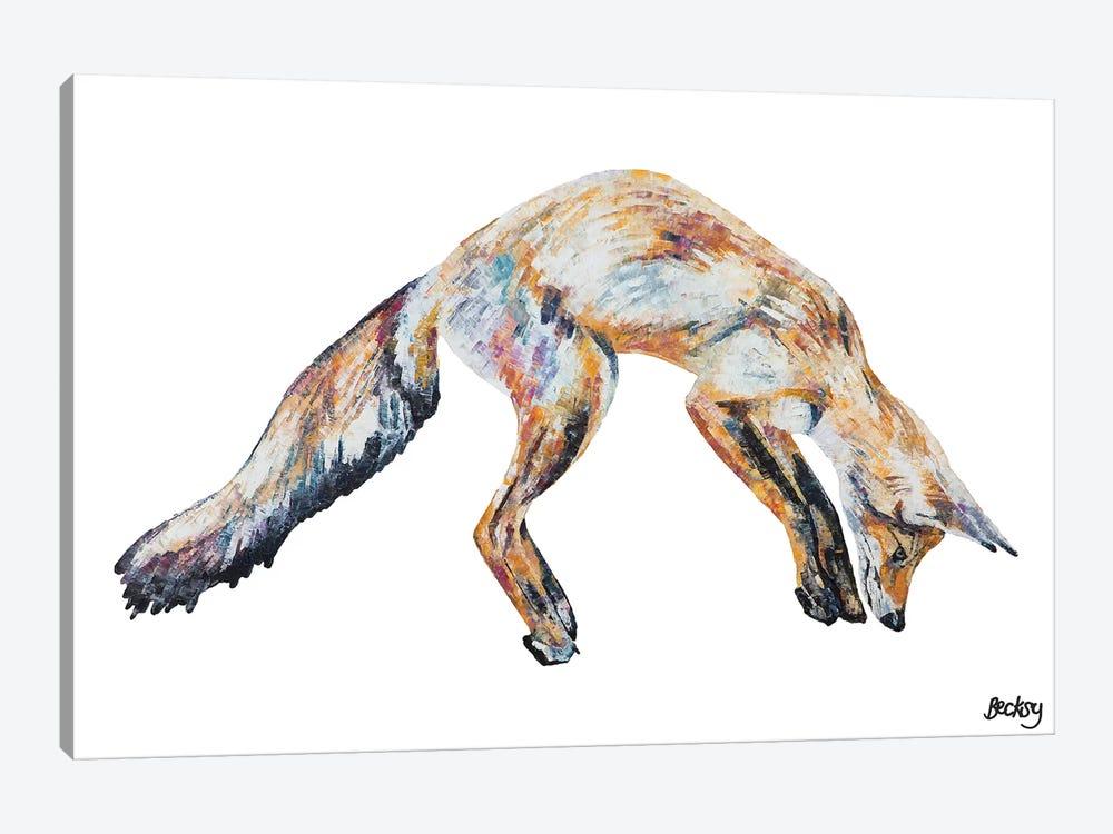 Mr Aikwood by Becksy 1-piece Canvas Print