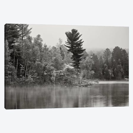 Little Island, Fortune Lake, Bewabic State Park, Iron County, Upper Peninsula, Michigan, USA Canvas Print #BED3} by Petr Bednarik Art Print