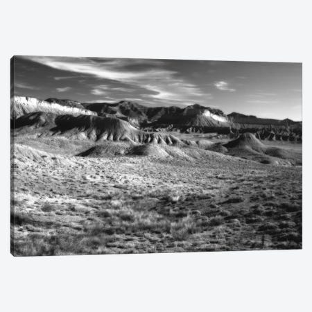 San Rafael Reef In B&W, Emery County, Utah, USA Canvas Print #BED6} by Petr Bednarik Canvas Art