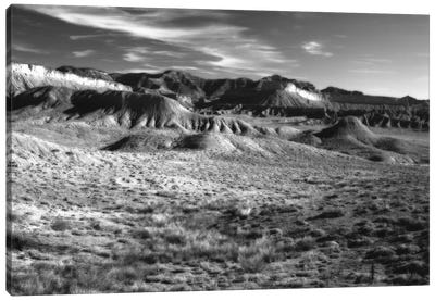 San Rafael Reef In B&W, Emery County, Utah, USA Canvas Art Print