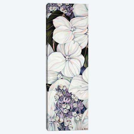 Hydrangea Canvas Print #BEE16} by Jo Beer Canvas Wall Art