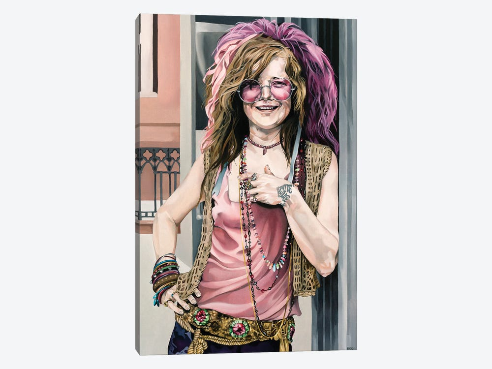 Janis by Jo Beer 1-piece Canvas Artwork