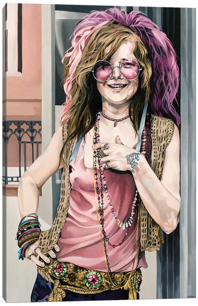 Janis Canvas Art Print