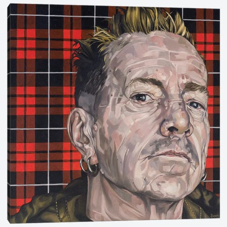 John Lydon Canvas Print #BEE18} by Jo Beer Canvas Print