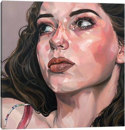 Miss Moon Canvas Art Print