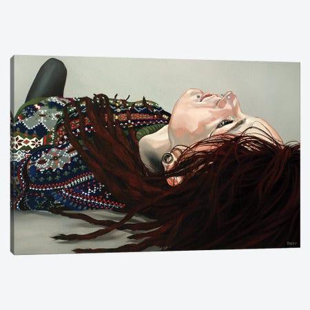 Recumbent Canvas Print #BEE24} by Jo Beer Canvas Art Print