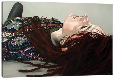 Recumbent Canvas Art Print