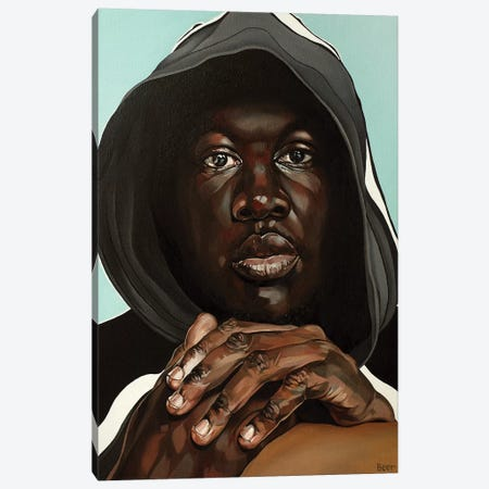 Stormzy Canvas Print #BEE27} by Jo Beer Canvas Print
