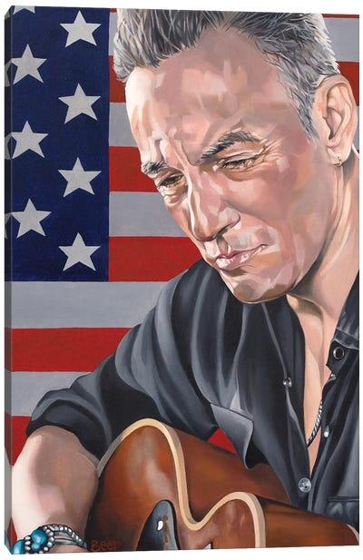 Bruce Almighty Canvas Art Print