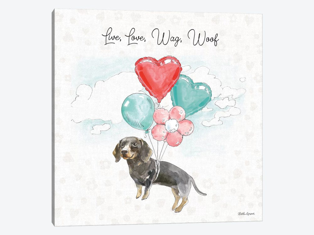 Paws of Love V by Beth Grove 1-piece Art Print