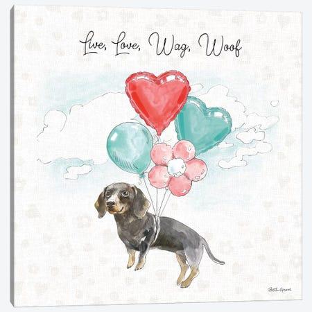 Paws of Love V Canvas Print #BEG101} by Beth Grove Canvas Artwork