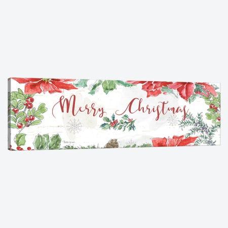 Farmhouse Holidays Merry Christmas Canvas Print #BEG102} by Beth Grove Canvas Wall Art