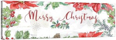 Farmhouse Holidays Merry Christmas Canvas Art Print