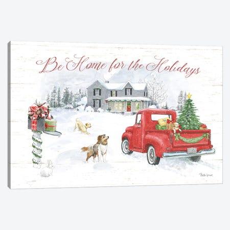 Farmhouse Holidays VI Canvas Print #BEG108} by Beth Grove Canvas Artwork