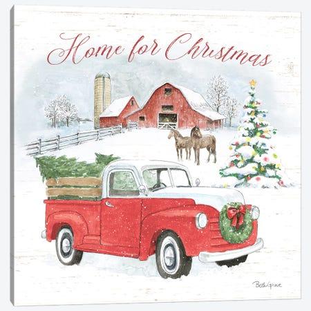 Farmhouse Holidays VII Canvas Print #BEG109} by Beth Grove Canvas Art