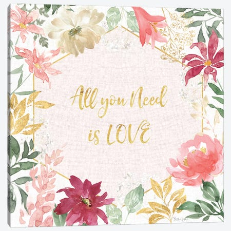 All You Need is Love III Canvas Print #BEG124} by Beth Grove Canvas Art Print