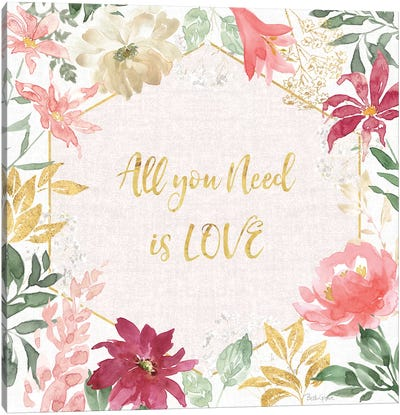 All You Need is Love III Canvas Art Print