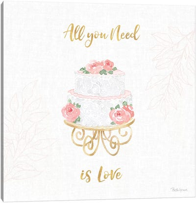 All You Need is Love IX Canvas Art Print
