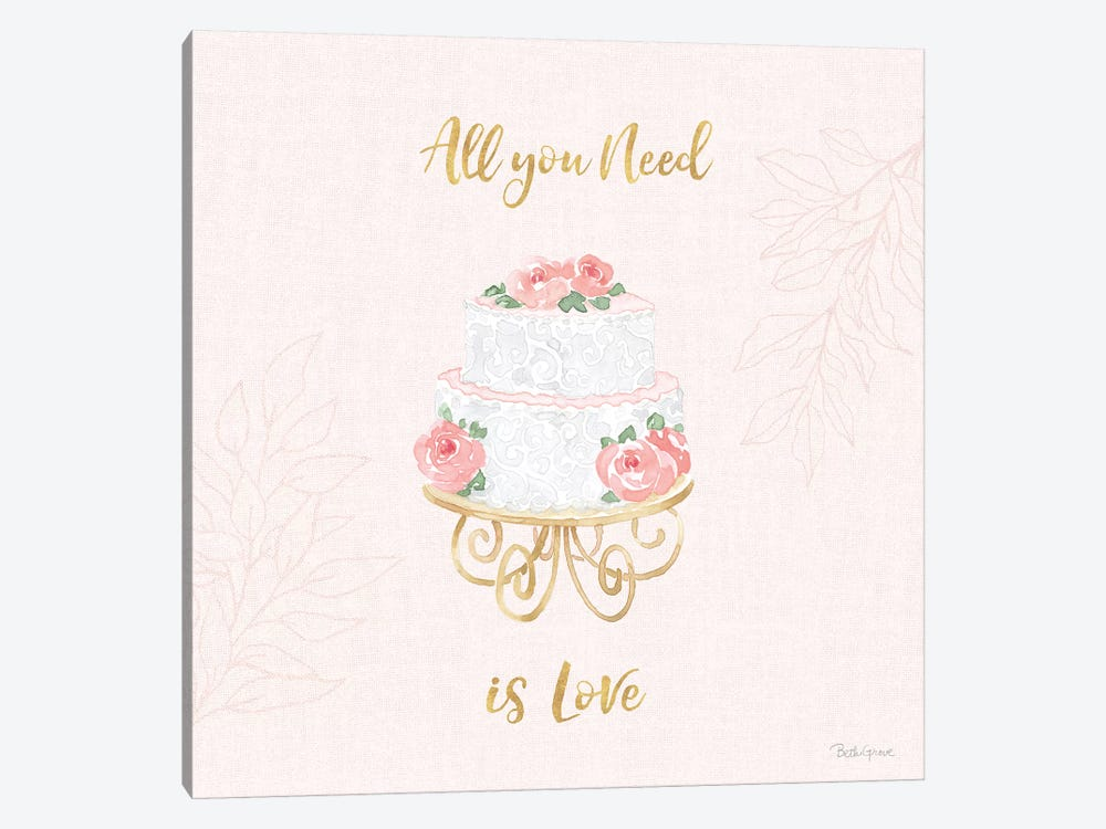 All You Need is Love IX Pink 1-piece Art Print