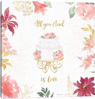 All You Need is Love V Canvas Art Print