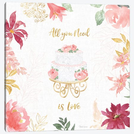 All You Need is Love V Canvas Print #BEG128} by Beth Grove Canvas Artwork
