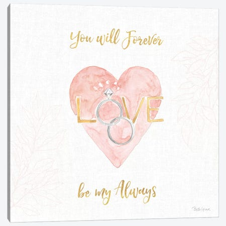 All You Need is Love XI Canvas Print #BEG135} by Beth Grove Canvas Art