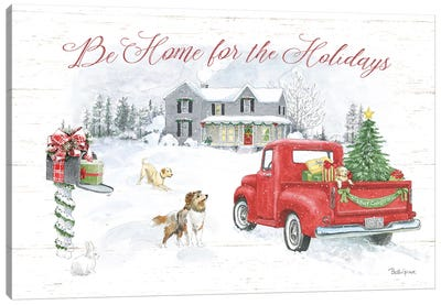 Farmhouse Holidays VI Canvas Art Print
