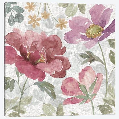 Springtime Bloom II Dark Canvas Print #BEG183} by Beth Grove Canvas Artwork