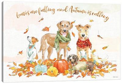 Harvest Dogs I Canvas Art Print