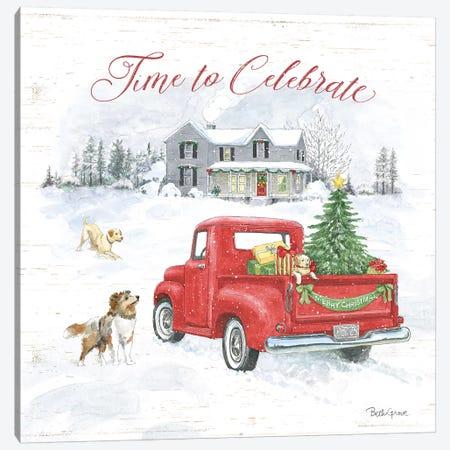 Farmhouse Holidays VIII Canvas Print #BEG19} by Beth Grove Canvas Print
