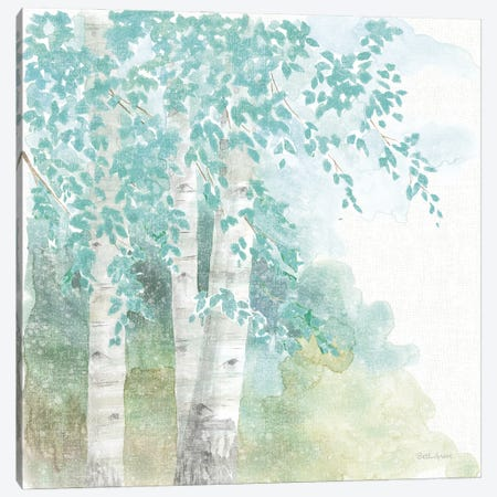 Natures Leaves II No Gold Canvas Print #BEG204} by Beth Grove Canvas Wall Art