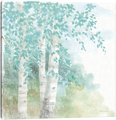 Natures Leaves II No Gold Canvas Art Print