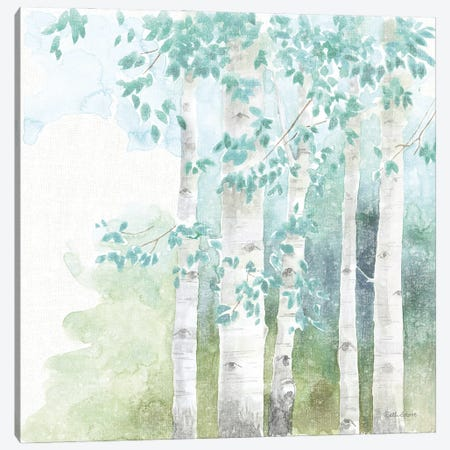 Natures Leaves III No Gold 3-Piece Canvas #BEG205} by Beth Grove Canvas Artwork