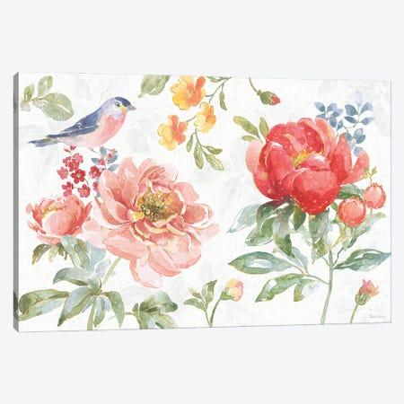 Floral Focus I Canvas Print #BEG207} by Beth Grove Canvas Art