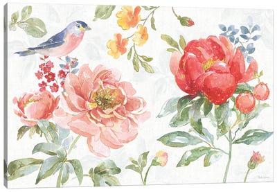 Floral Focus I Canvas Art Print