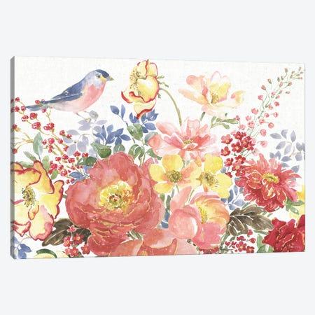 Floral Focus II Canvas Print #BEG209} by Beth Grove Canvas Print