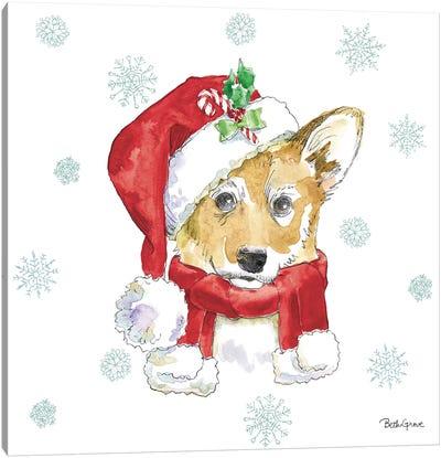 Holiday Paws VIII Canvas Art Print