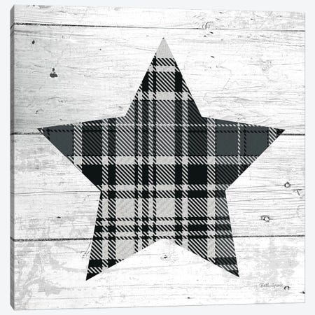 Nordic Holiday XIII - Plaid Canvas Print #BEG29} by Beth Grove Canvas Artwork