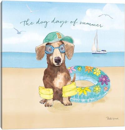 Summer Paws III Canvas Art Print