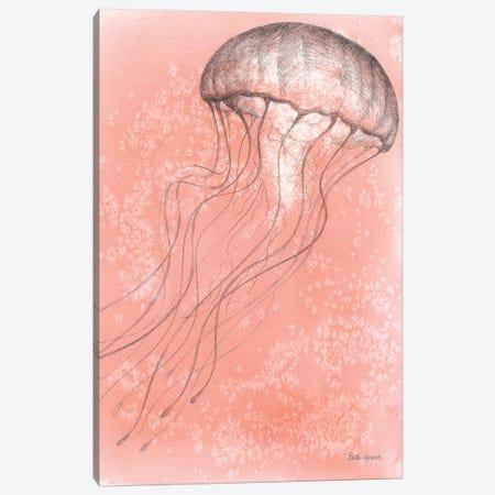 Coastal Sea Life IV Canvas Print #BEG49} by Beth Grove Canvas Artwork